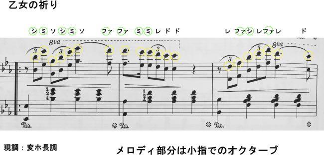 楽譜 オトメ の 祈り